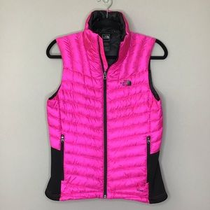 The North Face Tonnerro Hybrid Vest Glo pink